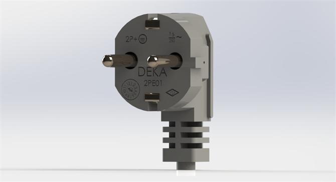 207459-European Plug Cable-DE-KA Elektroteknik Sanayi ve Ticaret A.S.
