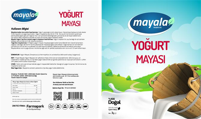 205537-Yogurt starter culture-Farmapark Arge Biyoteknoloji Makine Kimya Gida San. Ve Tic. Ltd. Sti.