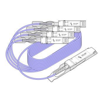 210300-Skylane Optics   QSFP+ -> QSFP+-Fotech Fiber Optik Teknolojik Hizmetler San. ve Tic. Ltd. Şti.