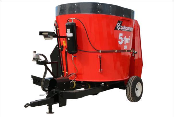 63383-Feed Mixing Machine (5 1 m3) ©-Cokcanlar Makina Tasimacilik San. Tic. Ltd. Sti.