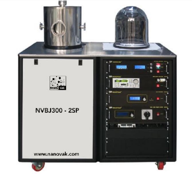 176990-NVBJ-300-2SP Sputtering System-NANOVAK AR-GE BİLİŞİM MÜHENDİSLİK DANIŞMANLIK SANAYİ VE TİCARET A.Ş.