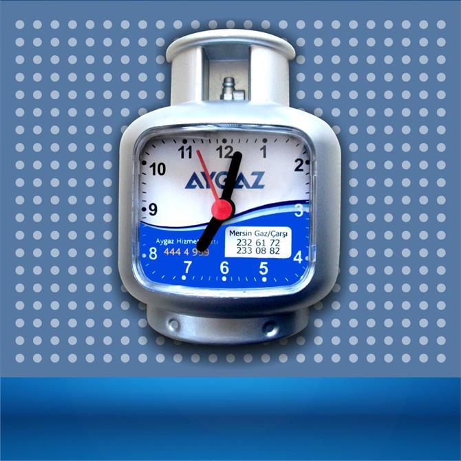 178414-Tube Refrigerator Clock-KİMAŞ PLASTİK VE PROMOSYON SANAYİ TİCARET LTD.ŞTİ.