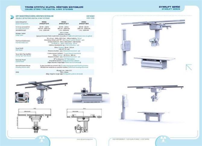 182075-Double Detector Ceiling Static DR System-Dinamik Rontgen