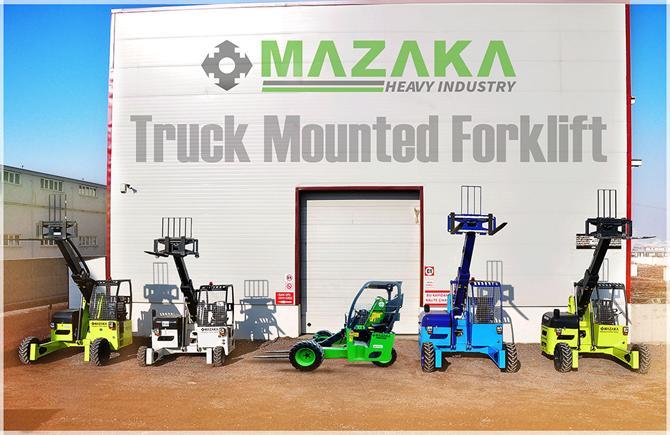 213942-Truck Mounted Forklift Truck-MAZAKA MAKINE SANAYI VE TICARET LTD. STI.
