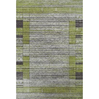 204153-Open Green Ethnic Carpet-Kaplanser Hali Gida Teks San. ve Tic. Ltd. Sti.