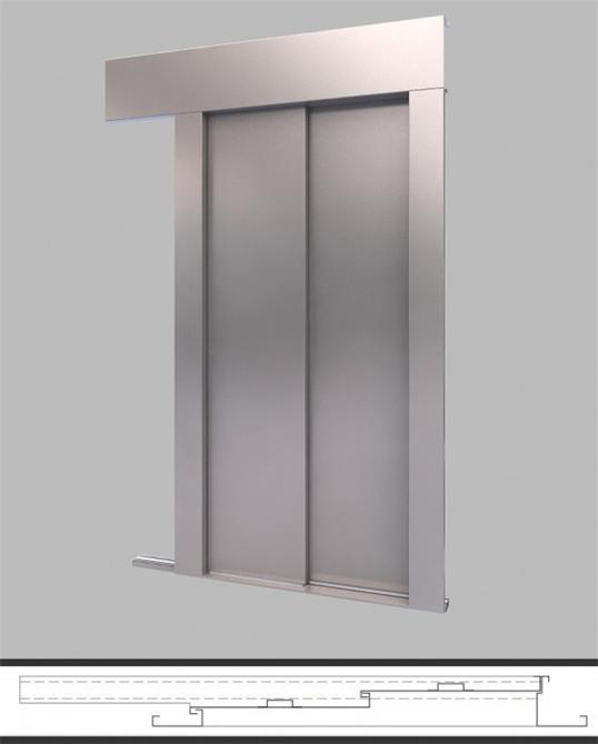 43460-Fire floor door-Mekisan Asansor ve Celik Konstruksiyon San. Ltd. Sti.