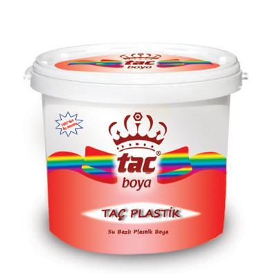 189134-TAÇ PLASTİK - Water Based Plastic Paint-Yeni Tac Boya San. Tic. Ltd. Sti.