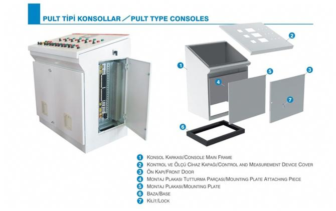 185143-Pult Type Consoles-Eptim Elektrik Ins. ve Tic. Ltd. Sti.