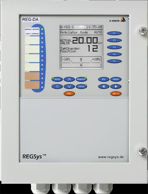 34389-Gerilim Regülatörü REG-DA-Genetek Güç Enerji Elektrik Sis. Özel Eğitim ve Danışmanlık San. Tic. Ltd. Şti.