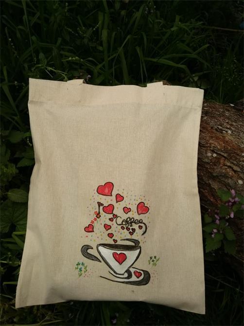 241019-coffee illustrated cloth bag-Gulseren Akdas