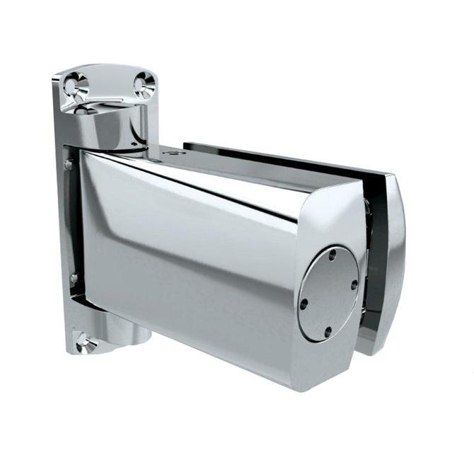 210182-Biloba 8060 Hydraulic Hinge-BM Glass Hardware