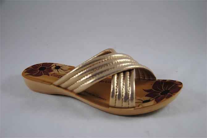 198365-Glittery Women's Slippers-Ender Plastik San. ve Tic. Ltd. Sti.