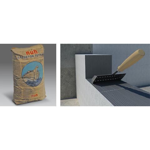 62995-Aerated Concrete Adhesive ©-Nuh Yapi Urunleri A.S.