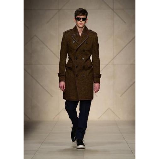 2063-Male brown coat-REIS KONFEKSIYON