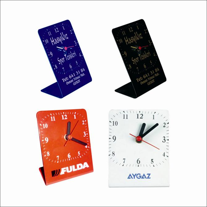 178427-Metal Desk Clock-KİMAŞ PLASTİK VE PROMOSYON SANAYİ TİCARET LTD.ŞTİ.