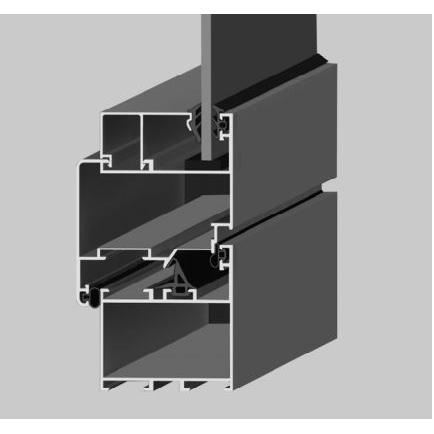 210555-S12 Uninsulated Joinery Systems-Gencer Aluminyum - Pres Aluminyum Metal Plastik Profil San. ve Tic. Ltd. Sti.