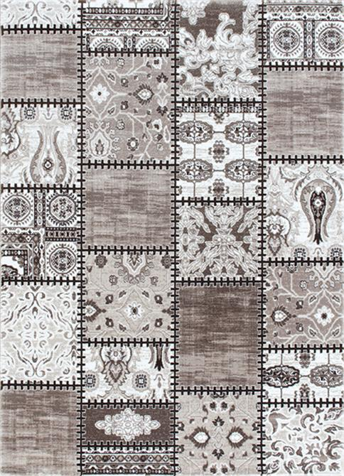 80865-Irem Patterned Carpet-Flora Hali - Gurteks Home Tekstil San. ve Tic. Ltd. Sti.