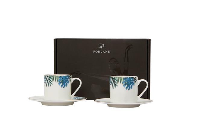 230254-Exotic Coffee Set 4 Pieces-Porland