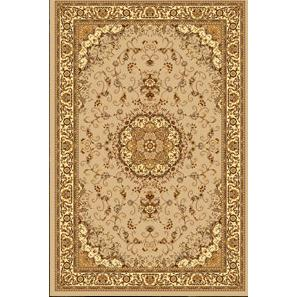 199150-Sheehrazad Collection Dark Beige Patterned Carpet-Durkar Halı Tekstil San. ve Tic. Ltd. Şti.