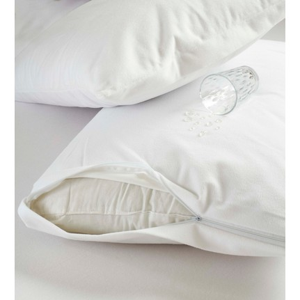 242462-NOFKU 50X70 MICRO PU LIQUID PROOF PILLOW ALEZ ZIPPERED-Gunes Tekstil Tic. Ve San. Ltd. Sti.