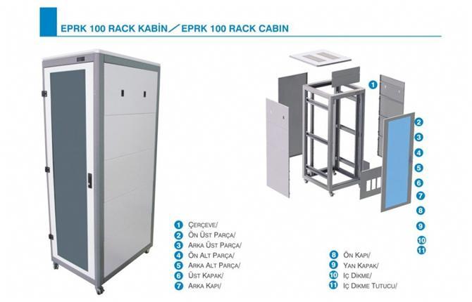 185144-Rack Cabinet-Eptim Elektrik Ins. ve Tic. Ltd. Sti.