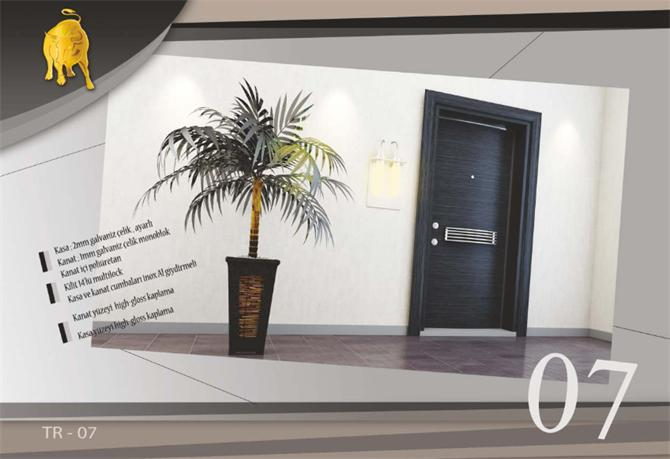 187839-Galvanized, Adjustable Steel Door-Toro Steel Door Celik Kapi Ltd. Sti.