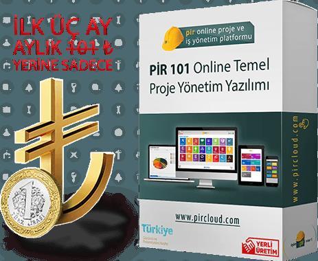 220654-Pir 101 Online Temel Proje Yönetim Yazılımı-Pir Yazılım ve Teknoloji San. Tic. A.Ş.