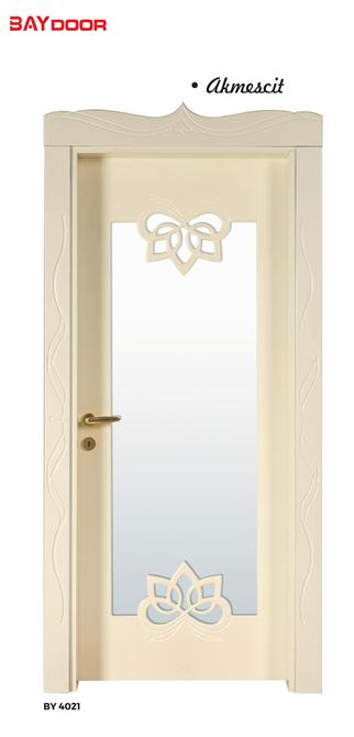 198886-BY 4021 DIAMOND SERIES WOODEN PAINTED INNER DOOR-Baydoor - Motif Decoration - Motif Group - Motif Kitchen Furniture Industry Limited Company