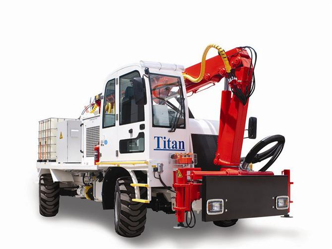 182957-Titan Concrete Sprayer-TITAN MAKINA LTD. STI.