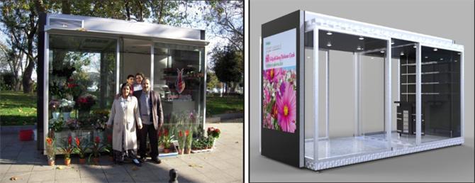 178072-flower kiosk-Beğen Metal Mühendislik