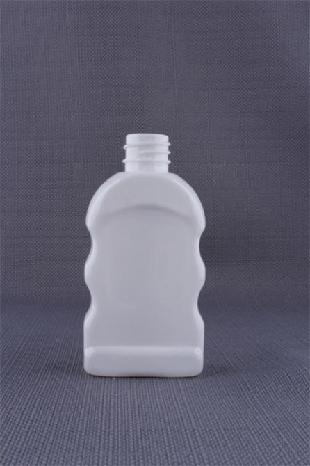Pete jagged opaque bottles