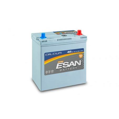 79595-12 V 40 AH Cylindrical Battery - Flat Normal Battery-Esan Akumulator ve Malzemeleri San. Tic. A.S.