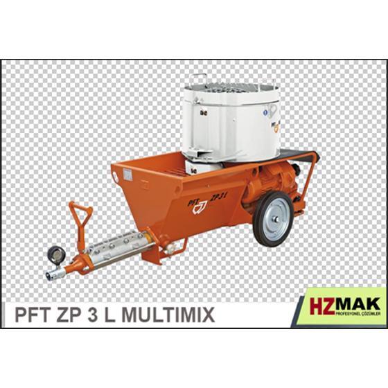 196194-Pft Zp 3 L Multimix Plastering Machine-Hzmak Elektrik Mak. Ins. Taah. Nak. San. ve Tic. Ltd. Sti.