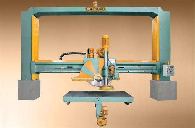 184314-2 Direkli ST 1750 Marble Block Cutting Machine-M.A.Y. Ucler Makina Iml. Ins. San. Taah. Tic. Ltd. Sti.