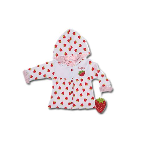 72146-Strawberry Scented Cardigan-Imaj Time - Ankara Imaj Bebe Ltd. Sti.