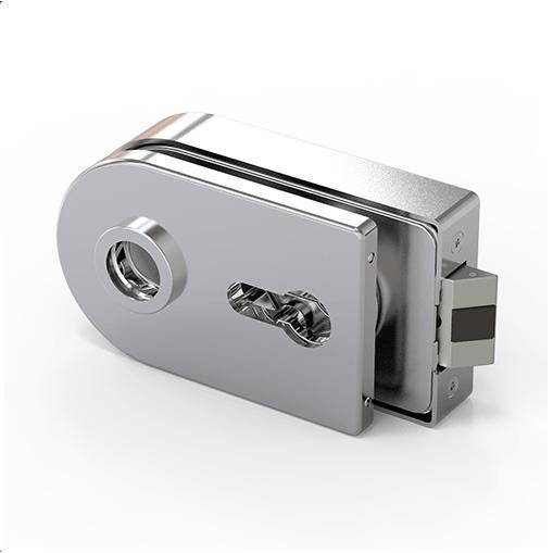 210188-684WSC Glass Door Lock-BM Glass Hardware