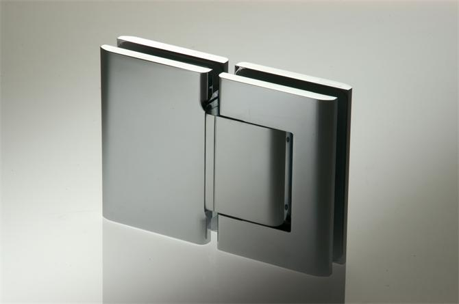 218536-Glass-to-Glass Hydraulic Hinge Set That Can Adjust The Closing Speed Of The Door-BM Glass Hardware