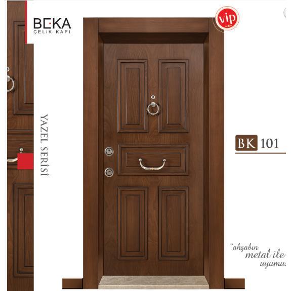 188766-Yazel Series / BK-101 Steel Door-Beka Celik Kapi Sac Metal Insaat Mobilya San. ve Tic. Ltd. Sti.