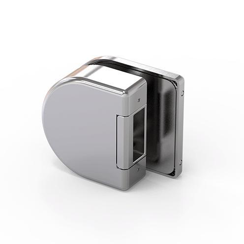 210213-684W50 Strike Box-BM Glass Hardware