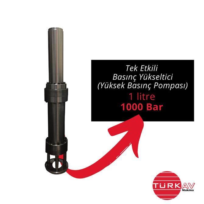 229022-Pressure İntensifier (High Pressure Pump)-Turkav Arastirma Gelistirme Muhendislik Makina Egitim Danismanlik Tic. Ltd. Sti.