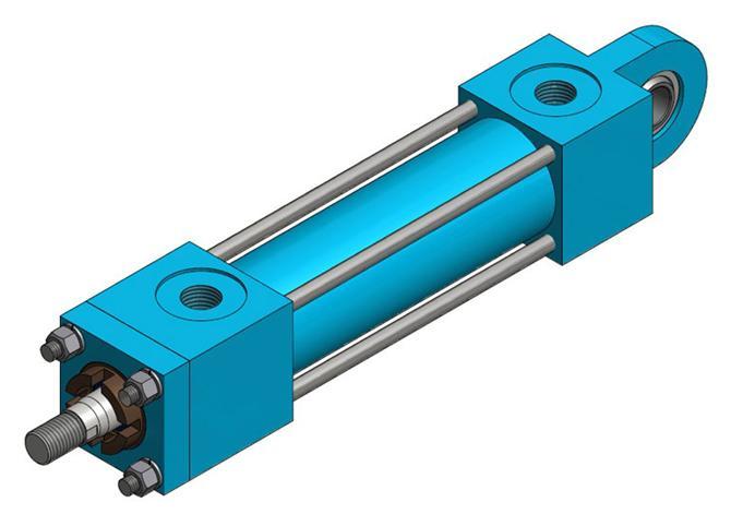 217695-Square Cylinders (HKT160)-HKTM-Hidropar Motion Control Technologies Center Inc.