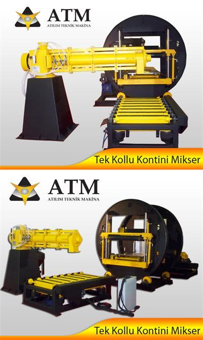 33485-Single lever mixer for continuous-ATM Atilim Technical Metal Recycling. Mak. Bookmarking. Sav. Singing. Imp. Exp. Tic. Ltd. Sti.