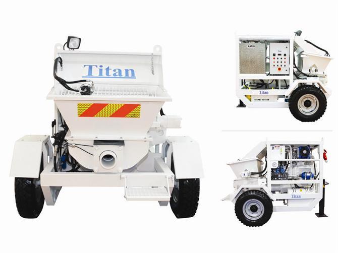 182959-Is5 Concrete Spraying Machine-TITAN MAKINA LTD. STI.