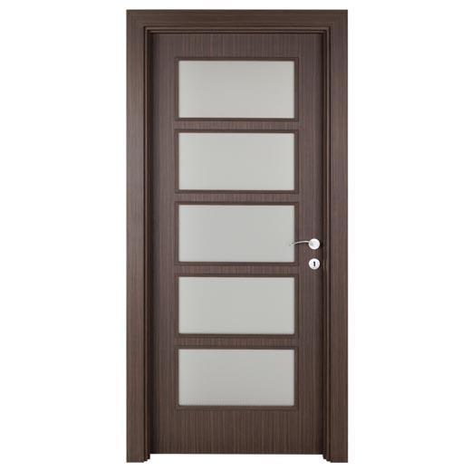 8566-Dark Zebrano door-AGT - Marmara Showroom & Branch
