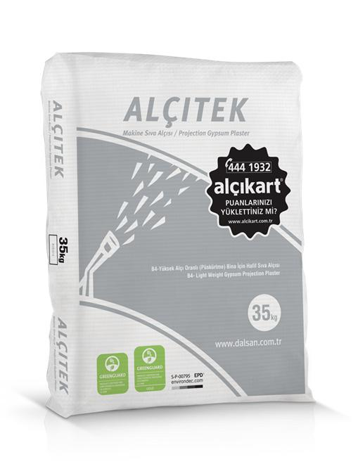 58894-Machine plaster-Dalsan Alci San. ve Tic. A.S. Gebze Subesi