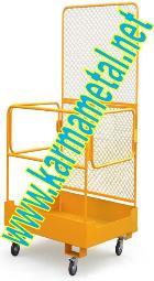 KARMA METAL-Forklift İnsan Personel  Adam Taşıma Kaldırma Sepetleri