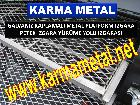Galvaniz kaplamali metal platform izgara centikli izgara tam gecme izgara modeli